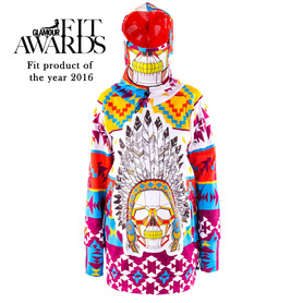 Navajo hoodie with replaceable mask